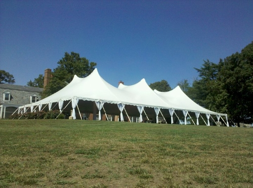 Side Pole Drapes<br><br>Side Pole Drapes are great to soften up the look of the tent.