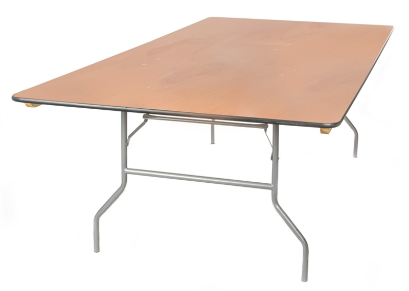 King Tables<br><br>King tables provide another option, other than the standard 30' wide banquet table. This 42' wide x 8' long table is a great option for family style dinner service or your wedding party table!<br> $17.00 plus tax