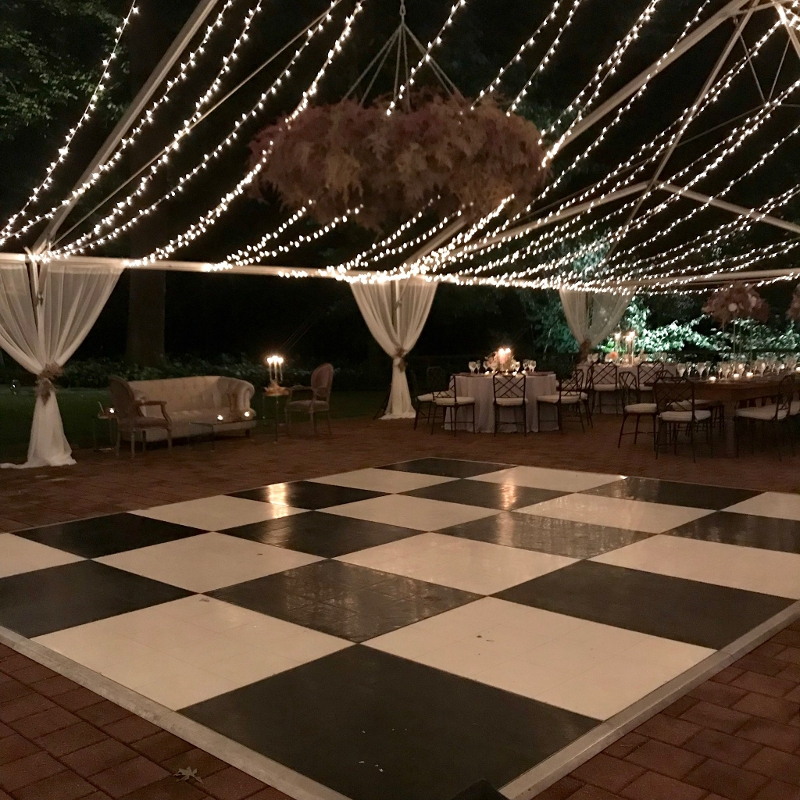 Black & White Dance Floor<br><br>