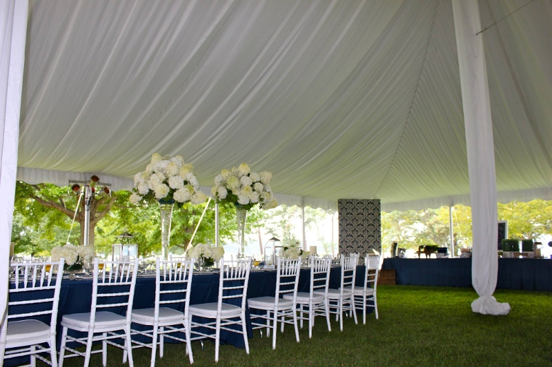 Full Fabric Ceiling Liner Drape in a 60u0027 Wide Pole Tent! : tent draping - memphite.com