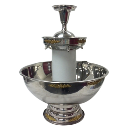 Punch Fountain<br><br>Available in Silver With Gold Trim or ALL Silver. (3 gallon and 5 gallon sizes available)