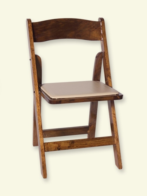 Fruitwood Padded Chair<br><br>$3.00 plus tax