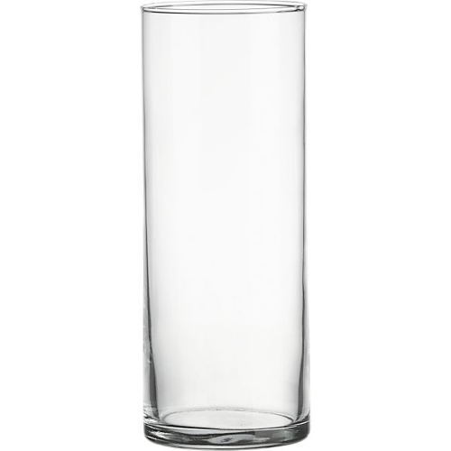 Glass Cylinder Vase<br><br>9inch x 3inch