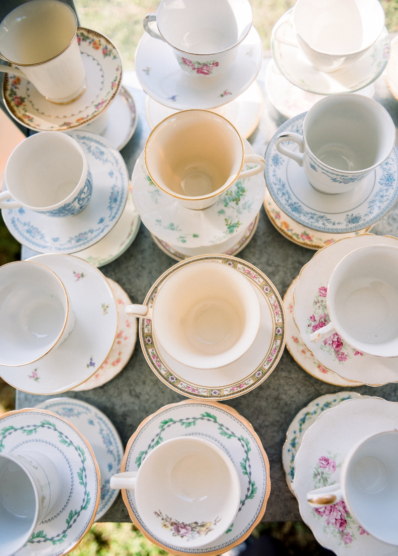 Vintage Cups and Saucers<br><br>